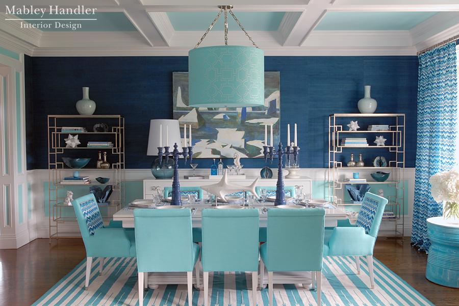 Beach House Dining Room By Mabley Handler