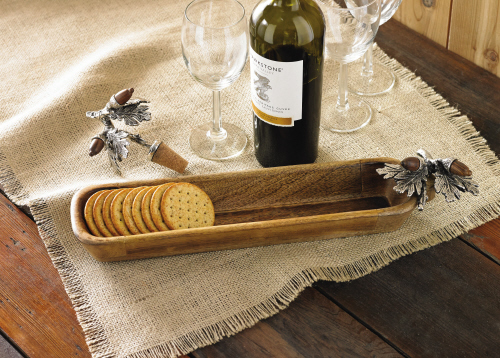 Acorn Cracker Dish