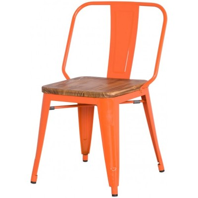 421-10960-Brian Metal Side Orange