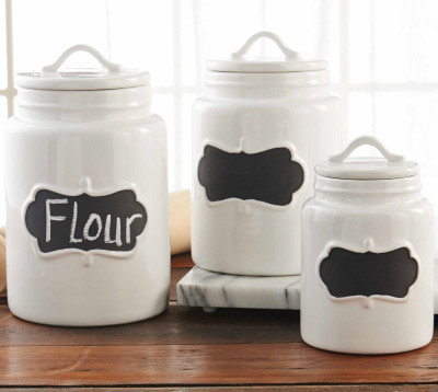 Chalkboard Cannisters