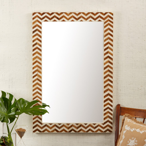 Natural Bone Mirror