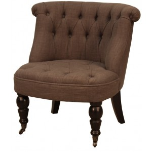 Olivia Tufted Slipper Chair