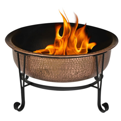 copper firepit tub