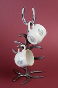 horshoe cup hodler - $36