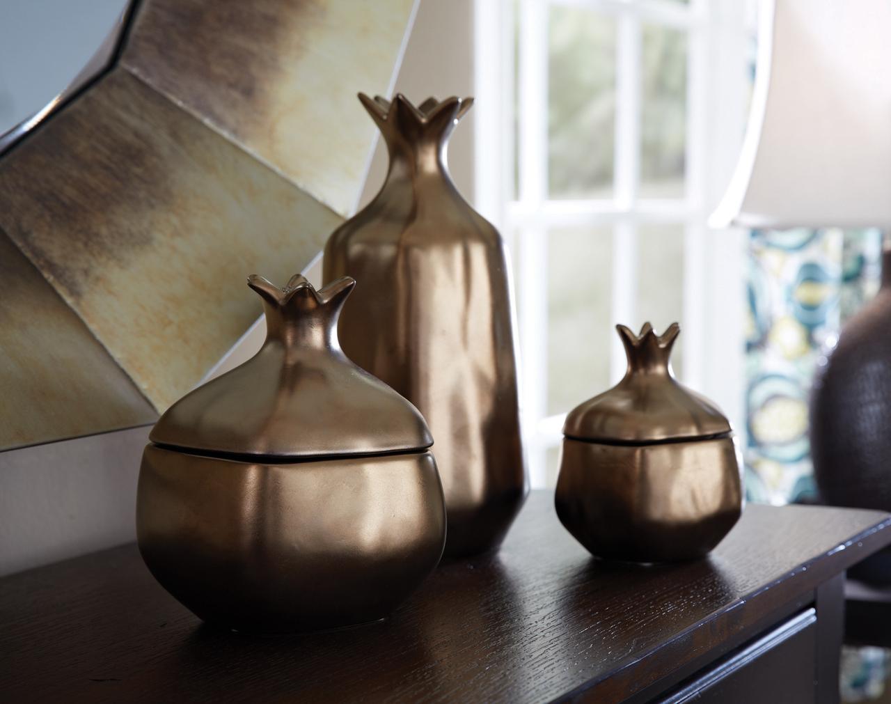 Bronze Pomegranate Jar