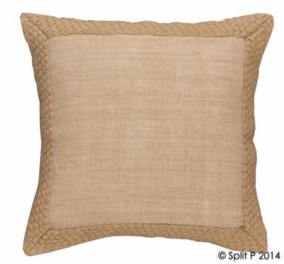 Jute Braided Throw Pillow Sagamore Bay
