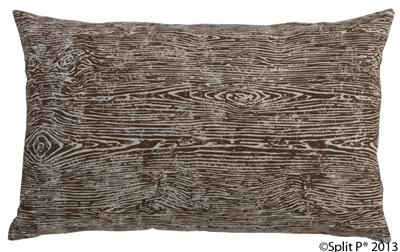 Nature Trail Wood Grain Pillow