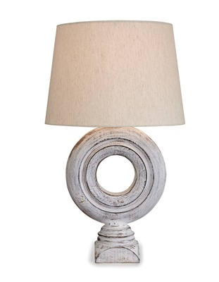 Ring Wood Lamp