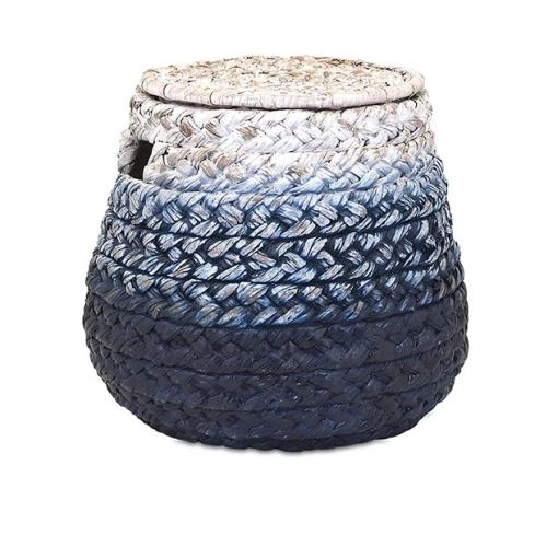 Woven Blue Basket