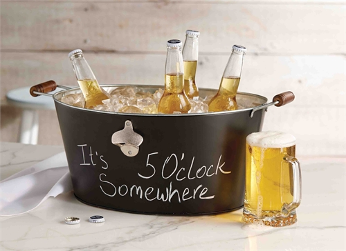 Chalkboard Beverage Tub