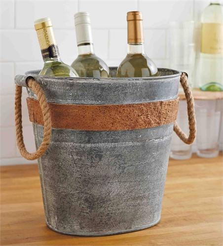 Cork Tin Party Tub
