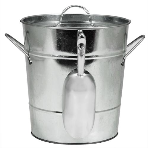 Galvanized Ice bucket