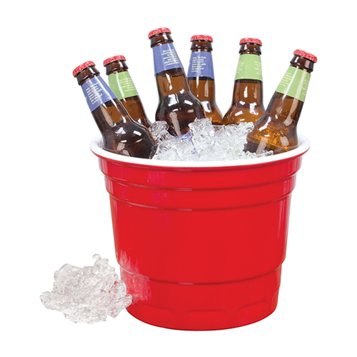 Red Cup Ice bucket