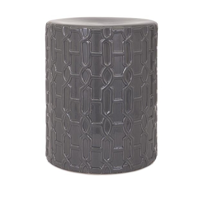 Essentials Reflective Grey Stool