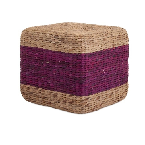 Hien Hyacinth Stool - Purple