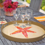 Starfish serving tray